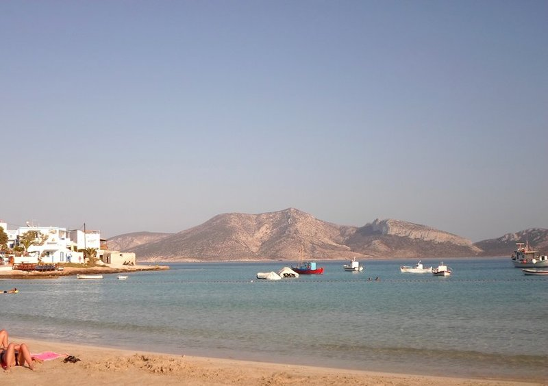 The Small Cyclades islands